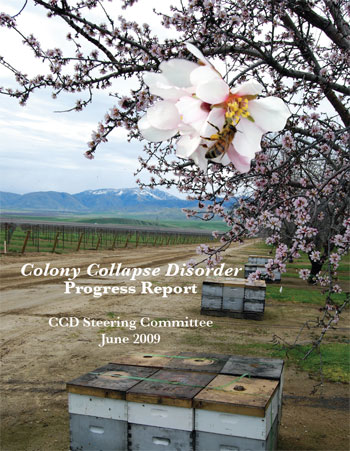 Colony Collapse Disorder Progress Report, CCD Steering Committee June 2009, cover page
